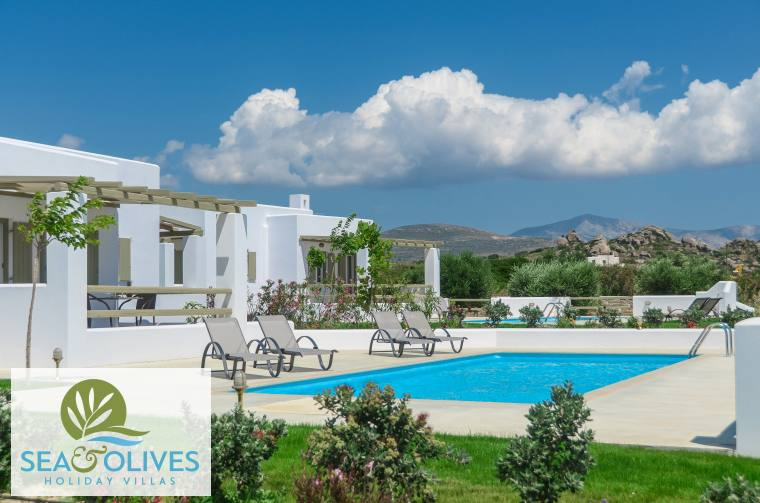 Naxos Villas Sea and Olives in Plaka