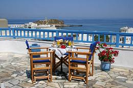 Anixis Hotel in Old Naxos Town