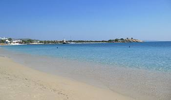 Agia Anna Beach, Naxos Island Greece