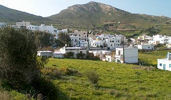 Galini Village Naxos Island Greece