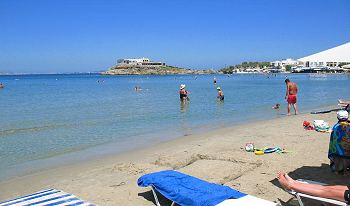 Saint George Beach, Hora Naxos